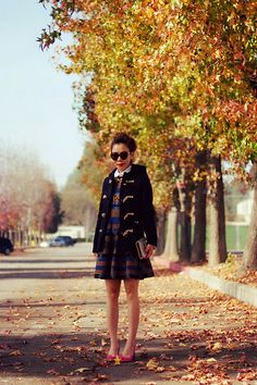 Toggle Coat (by Hallie S.) http://lookbook.nu/look/4343807-Toggle-Coat