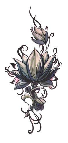 UneTattoo QS-T008 Temporary Tattoo 9*19 CM
