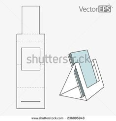 Triangle folder display