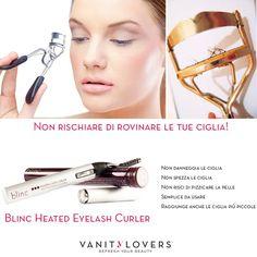 Coccola le tue ciglia trattandole con cura! http://www.vanitylovers.com/brands/blinc/blinc-heated-eyelash-curler.html?utm_source=pinterest.com&utm_medium=post&utm_content=vanity-blinc-heated-eyelash-curler&utm_campaign=pin-vanity