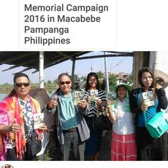Memorial Campaign 2016 in Macabebe Pampanga Philippines @__fey__ thank you