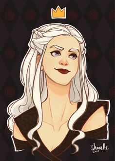 game of thrones - daenerys targaryen by shorelle on DeviantArt