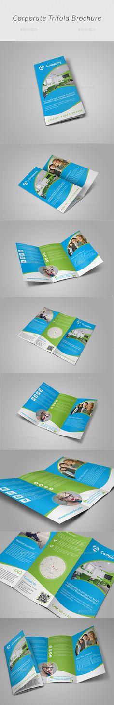 Tri-fold Brochure-Multipurpose - Corporate Brochures