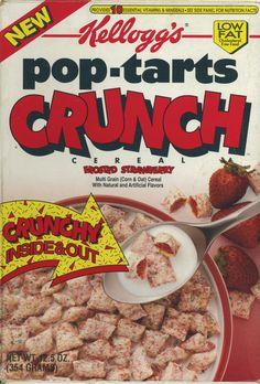 Pop Tarts Crunch ©1989 Kellogg Company