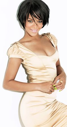 Cute Haircut Rihanna. RiRi #Rihanna, #Riri, #pinsland, https://apps.facebook.com/yangutu