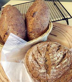 Sourdough with 5 grains #bread