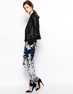 2nd Day Graphic Printed Pant