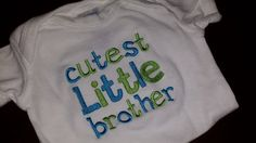 Little Brother ShirtFREE SHIPPING by SouthernBlingBowtiqu on Etsy, $23.00