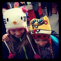 Hello Kitty and Spongebob at the Fair...