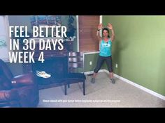 Feel Better in 30 Days | Part 4 of 4 - YouTube Senior Fitness, Small Changes, Physical Therapy, Physical Activities, 30 Day, Feel Better, Physics, Family Guy, Wellness