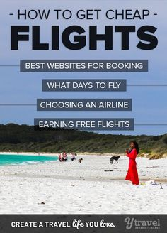 Want to know how to find cheap flights online? Use these 19 tips and check out this list of the best booking websites.