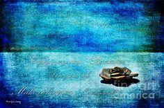 Blue View - by Randi Grace Nilsberg