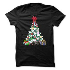 Christmas Tree T-Shirt and Matching Hoodie each sold separately