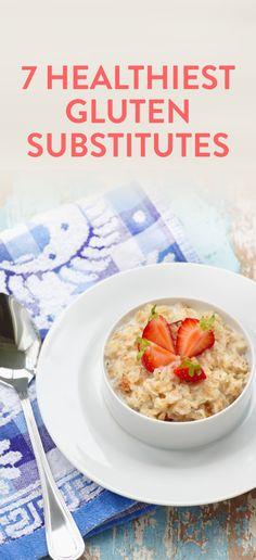 the 7 healthiest gluten subsitutes #ambassador