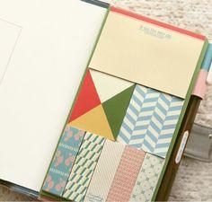 iconic sticky book   pattern