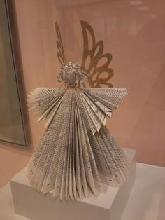 Book Angel - looks like a good use for an out of date tax book.
