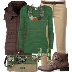 Neutrals for Fall, created by jennifernoriega on Polyvore