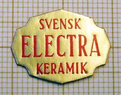 Alternate Upsala Ekeby label Pottery Marks, Pot Holders, Scandinavian, Website, Hot Pads, Potholders