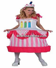 Tu mejor disfraz de tarta cumpleaños adulto para mujer.Este gracioso Disfraz de Tarta Sorpresa para mujer, Con este original disfraz destacarás en las Fiestas de Disfraces, Despedidas, Carnaval o Fiestas Temáticas.