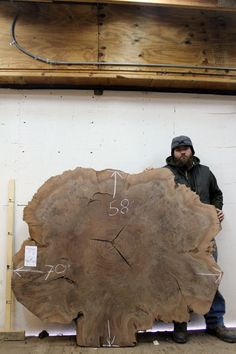 Claro Walnut Natural Live Edge Wood Slab Tabletop Burl Figured Round Custom Dining Table Top Kitchen Counter Rustic Wooden Headboard 4015x3