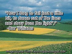 best. song. ever. Iowa. Dar Williams.
