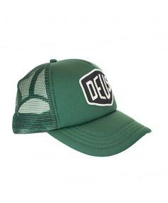 DEUS Baylands Trucker cap - green