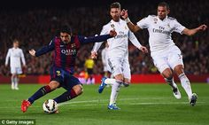Barcelona 2-1 Real Madrid MATCH REPORT: Luis Suarez scores winner in El Clasico... follow the action as it happened   Daily Mail Online