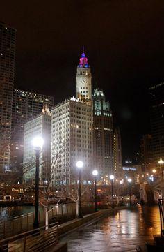 2011 Michigan Avenue Lights Festival.