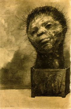 Odilon Redon..like a car wreck I can't look away.....