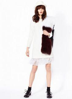 Pinko autunno inverno 2014 2015 Uniqueness: la Moda di ultima Tecnologia Pinko autunno inverno 2014 2015 Uniqueness bianco
