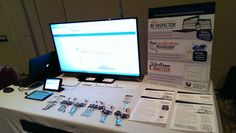 Table display at CableLabs Winter Conference 2015.