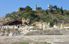 The Sanctuary of Eleusis Eleusis was one of the great shrines of antiquity. Its practices were based on two goddesses, Demeter and Persephone. These secret rites were so protected that any initiates who revealed them would be put to death, as would any non-initiates who entered the sanctuary.