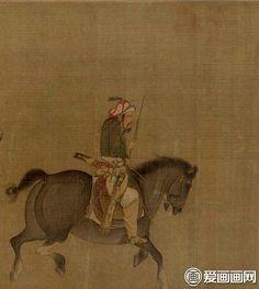 "Lee Chan Wah(李赞华) , 耶律倍李赞华《东丹王出行图》. 李赞华是后唐的著名画家,又是契丹开国皇帝耶律阿保机的长子。那么,他为何不在契丹当皇帝,反而跑到中原当画家?他的经历,一言难尽——— 公元931年的一天,后唐皇帝李嗣源(死后庙号明宗)接到登州官员的报告,说是契丹耶律阿保机的长子耶律倍(契丹名图欲、突欲、托云)离家弃国,放弃东丹王之职,由辽东偷渡登州,请求后唐予以保护。明宗当即下令:""着人严密保护,火速送至京城。""在洛阳,明宗以天子礼仪欢迎耶律倍,为其赐姓东丹,名慕华,稍后又赐国姓李,名赞华,并封为怀化军节度使,还不时到府上看望慰问。"