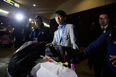 Yuzuru Hanyu Photos - Winter Olympics Press Conference - Zimbio