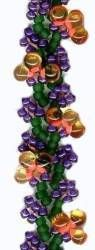 FREE PATTERN! Flower Bud Bracelet Biva Chain at Sova-Enterprises.com Many Bead FREE patterns available