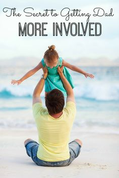 Want to know the secret to getting Dads more involved in our kids lives? This really worked with my husband, and improved our relationship! Gentle Parenting, Parenting Advice, Kids And Parenting, Our Kids, My Children, Family Kids, Happy Family, Getting Pregnant, Future Baby