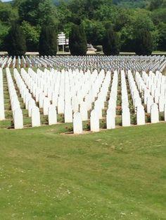 Moslim soldiers cemetery on Ossuarium Douaumont.