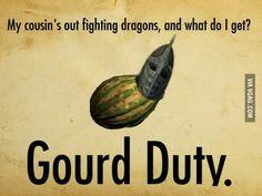 But seriously though, Skyrim belongs to the gourds. Brynjolf Skyrim, Skyrim Tips And Tricks, Elder Scrolls Memes, Scrolls Game, Old Games, Gurren Lagann, Fandoms, Halo Reach, Tomb Raiders