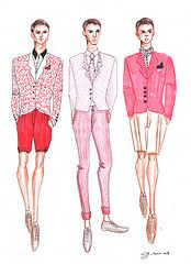2013 Spring/Summer Collection Men Pt.4 (G-nuinart) Tags: pink red men fashion illustration sketch rojo drawing moda salmon rosa preppy designs dibujo hombre ilustracin boceto diseos 2013 genuinos gnuinart