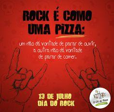 Feito para E-Dialog comunicação digital #pizza #graphicdesign #rock