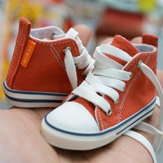 Smart Doll Red Canvas Shoes