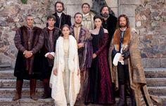 "Elenco de la serie de TVE ""Isabel"" (2012-2014). Primera temporada: ca. 1465-1474."