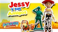 Jessy de Toy Story 2 y Slinky de Toy Story Buscan a Buzz Lightyear y a W...