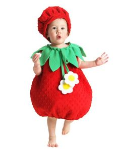 Strawberry Infant Costume Size XX-Small (18M-2T) Best Reviews