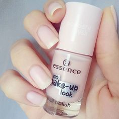"""""""the light texture of our three """"no make up look"""" nail polishes offer subtle coverage with a semi-matt finish – for gorgeous, natural-looking nails. thank…"""""""