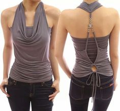 I would like to take some of the qualities of this top to make something a little more suitable for my wardrobe.
