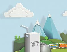 """Check out this @Behance project: """"ADVERTISING   Tetra Pak - National Milk Day""""…"""