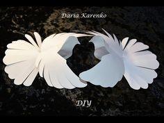 DIY Красивый голубь из бумаги. Мастер класс
