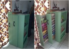 WOW, this is a DIY for the studio. Grab an old dresser and get to work.