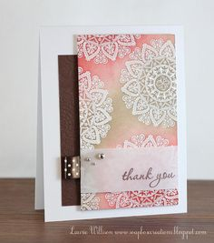 Love the emboss resist and the colors. Gorgeous use of Mehndi medallion @Laurie Willison